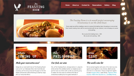 The Feasting Room - Iconica Communications