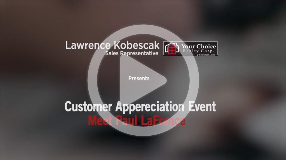 Lawrence Kobescak | Customer Appreciation Event with Paul LaFrance - Iconica Communications